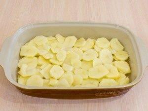 Мясо с картофелем под майонезом - 1
