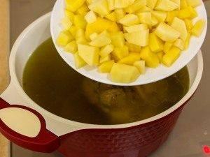 Суп с говядиной и машем - 3