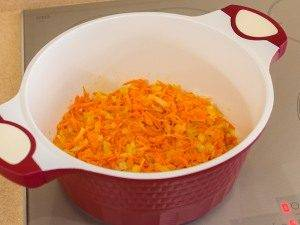 Суп с кукурузой, рисом и курицей - 1