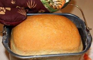 Белый хлеб на ночной опаре в хлебопечке - 1