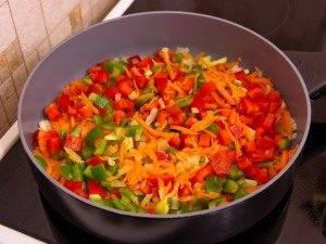 Болгарский перец, жаренный с кукурузой - 2