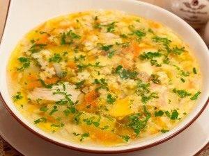 Куриный суп со «звездочками» - 2