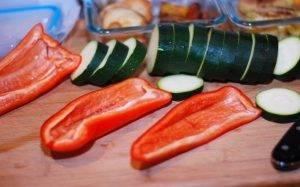 Жареные овощи с рукколой на гарнир - 0