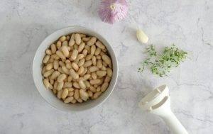 Канапе с фасолью и оливками - 0