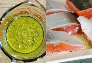 Запеченный лосось с имбирем и лаймом - 0