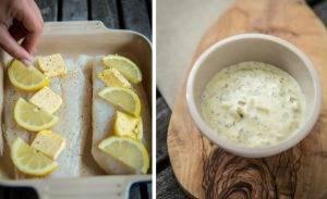 Треска с лимоном и сливочным маслом - 0