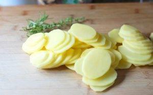 Быстрый гарнир из картофеля - 0