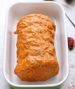 Свиная корейка с соусом чили в духовке - 0