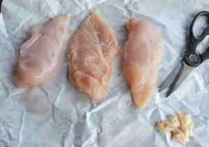 Тушеные куриные грудки с помидорами - 0