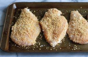 Куриные грудки в панировке в духовке - 0