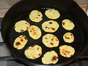 Крестьянские чипсы из картофеля по-молдавски - 1