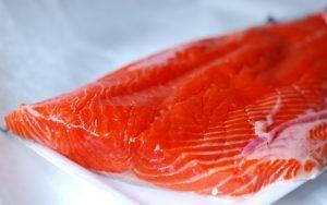 Закуска из свежего лосося - 0