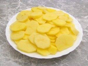 Говядина, запеченная с картофелем и грибами - 2
