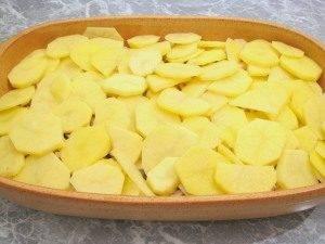 Говядина, запеченная с картофелем и грибами - 6
