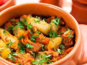 Горшочки с мясом и картофелем - 7