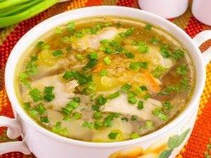 Куриный суп с чечевицей - 4