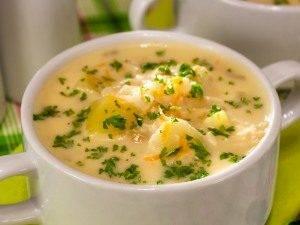 Домашний сырный суп - 6