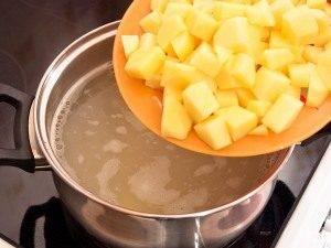 Домашний сырный суп - 1
