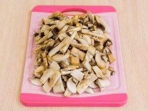 Куриное филе, жаренное с грибами - 3