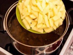 Говяжий суп с картофелем и стручковой фасолью - 3
