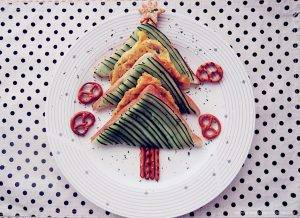 Съедобная елка: оригинальные закуски на Новогодний стол - 10