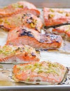 Запеченный лосось с имбирем и лаймом - 1