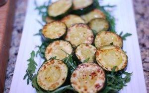 Жареные овощи с рукколой на гарнир - 2