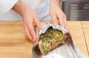 Запеченная свинина с грибами - 2