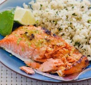 Запеченный лосось с имбирем и лаймом - 2