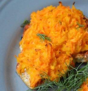 Куриная грудка с морковью в духовке - 2