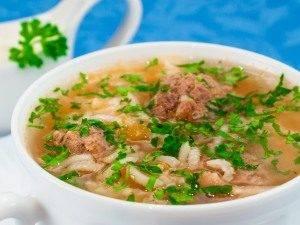 Томатный суп с рисом и фрикадельками - 7