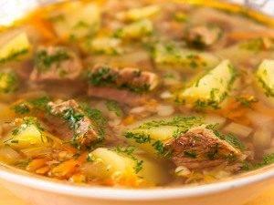 Суп с прокаленной гречкой - 4