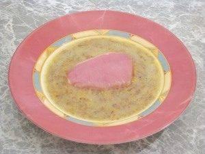 Свинина, жаренная с горчицей и яйцами - 3