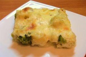 Цветная капуста и брокколи, запеченные под сливочным соусом - 7
