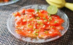 Закуска из свежего лосося - 3