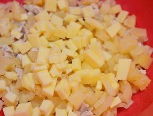 Домашние тарталетки с курицей и ананасом - 3