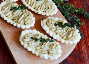 Тарталетки с грибной пастой - 3