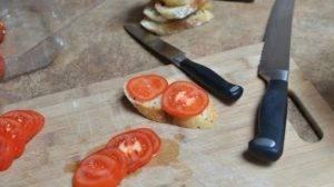 Бутерброды с морковью и помидорами - 3