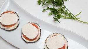 Закуска из баклажан, сыра и помидоров - 3