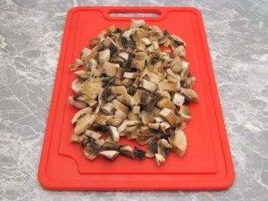 Утка, фаршированная грибами и картофелем - 0