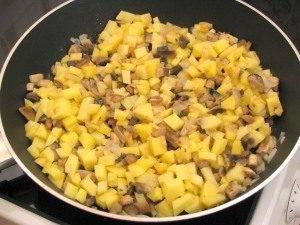 Утка, фаршированная грибами и картофелем - 3