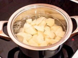 Суп-пюре с шампиньонами и картофелем - 0