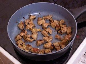 Филе индейки, жаренное с рисом и ананасами - 0