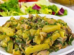 Картофель, жаренный с грибами - 7