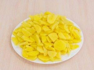 Картофель, жаренный с грибами - 1