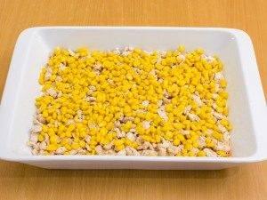 Запеканка с рисом, куриным филе, кукурузой и овощами - 4