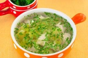 Суп с индейкой, картофелем и луком-пореем - 3