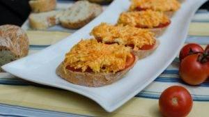 Бутерброды с морковью и помидорами - 4