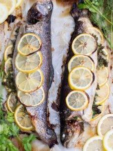 Форель с лимоном в духовке - 4