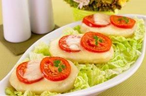 Картофель, запеченный с помидорами и сыром - 5